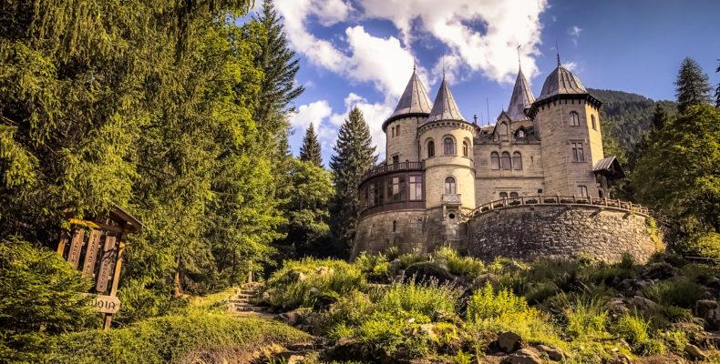 Castel Savoia, Gressoney-Saint-Jean (Valle d'Aosta, Italy)